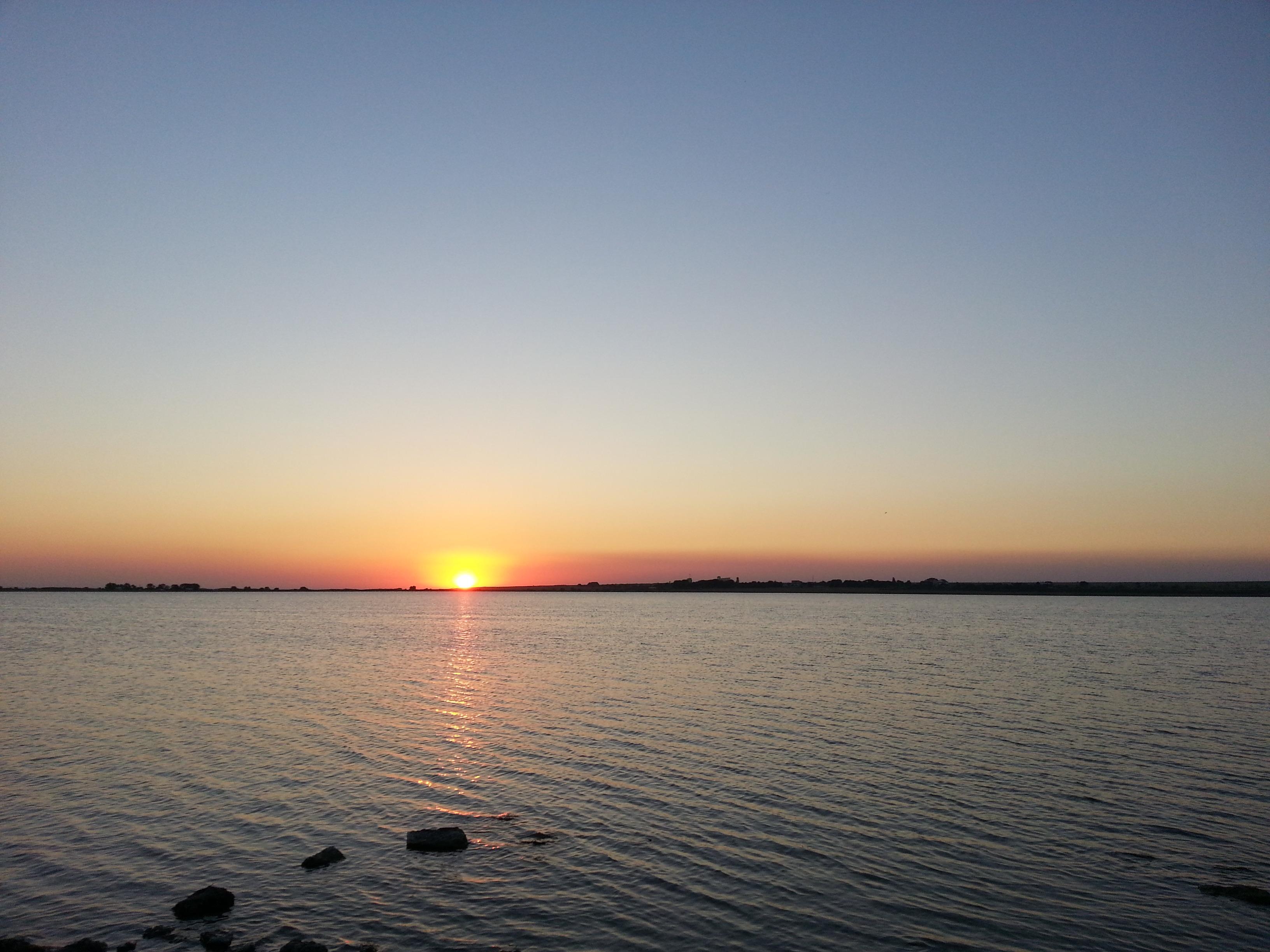 закат солнца в Крыму
