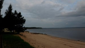 Рыбинское море - бухта Коприно